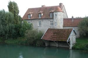 Le prieuré de Marnay-sur-Seine