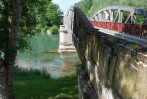 Le pont de Marnay-Sur-Seine