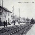 La gare de Marnay-sur-Seine